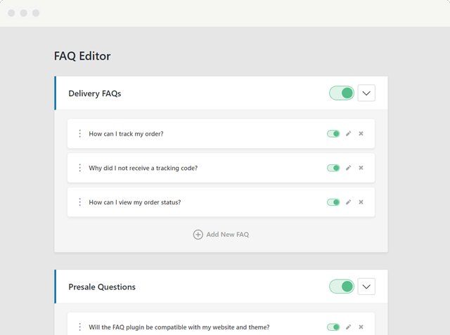 Heroic FAQs WordPress Plugin