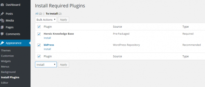 3 HelpGuru install required plugins