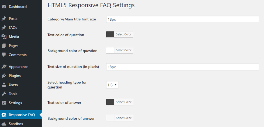 best faq plugin html5 responsive faq